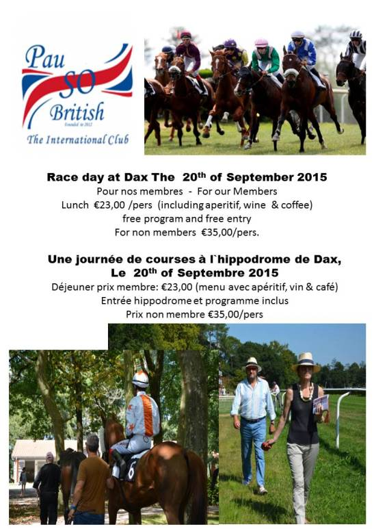 Races and lunch at Dax3